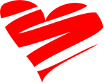 corazón trazado