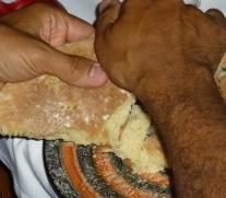 pan para cenar